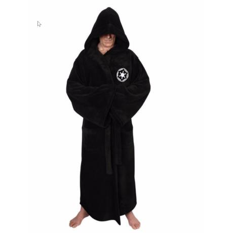 Star Wars Csillagok Háborúja fürdőköntös fürdőköpeny - Sith, fekete