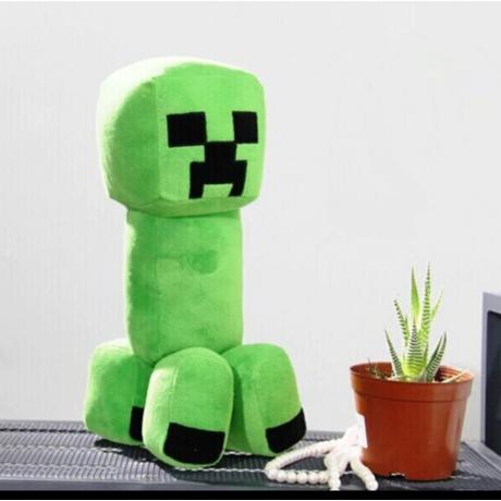 Nagy méretű Minecraft óriás plüss - Creeper (30cm)