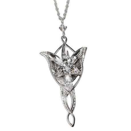 LOTR A Gyűrűk Ura Arwen Aragorn Evenstar nyaklánc