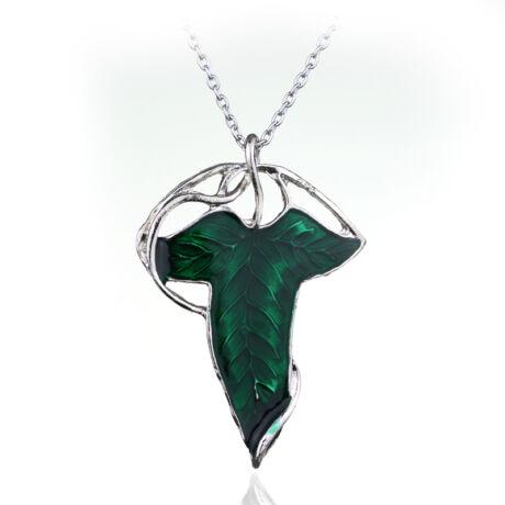 LOTR A Gyűrűk Ura Arwen Hobbit Levél nyaklánc