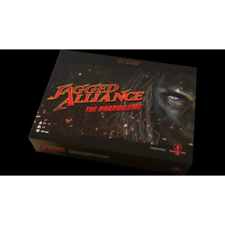 Jagged Alliance The Boardgame - társasjáték