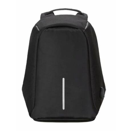 Lopásgátló laptop notebook hátizsák biztonsági táska USB töltőporttal - fekete