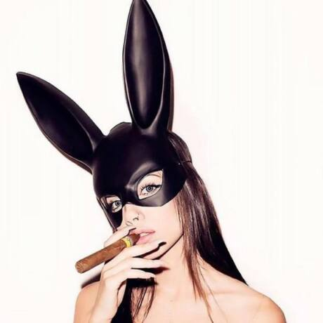 Playboy nyuszi halloween farsang jelmez kiegészítő - maszk