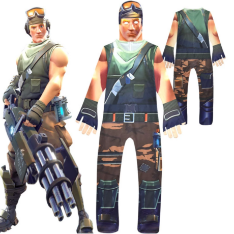 Fortnite Soldier Recon jelmez szett