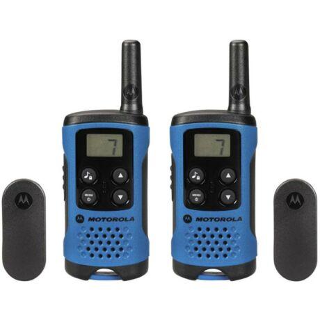 Motorola TLKR-T41 kézi adó-vevő, Walkie Talkie - kék