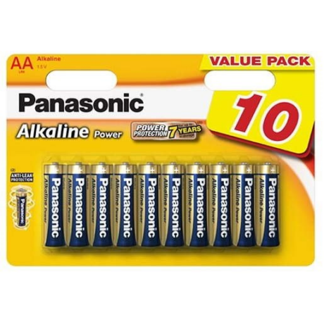 Panasonic AA Alkaline Power LR06 elemek Value Pack - 10db