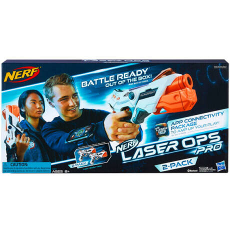 Hasbro NERF Laser Ops Alphapoint 2 duopack