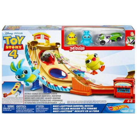 Mattel Hot Wheels Toy Story 4 Buzz Lightyear karneváli mentőakció (GCP24)