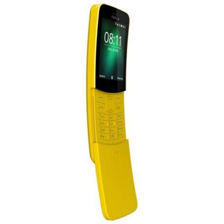 Nokia 8110 4GB Dual Mobiltelefon - sárga