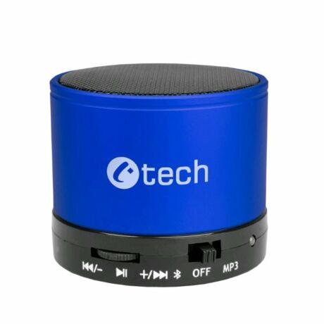 C-TECH SPK-04 hordozható bluetooth hangszóró - kék