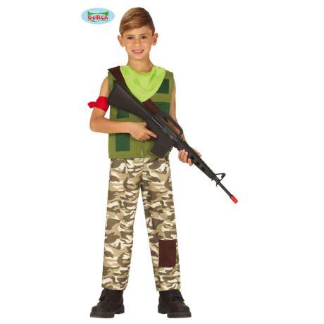 Fortnite Recon zsoldos, katona halloween farsangi jelmez szett - gyerek