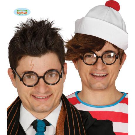 Harry Potter halloween farsang jelmez kiegészítő - kerek szemüveg
