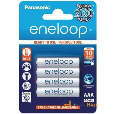 Panasonic AAA Eneloop 750mAh (4db)