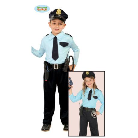 Rendőr járőr halloween farsangi jelmez szett - gyerek