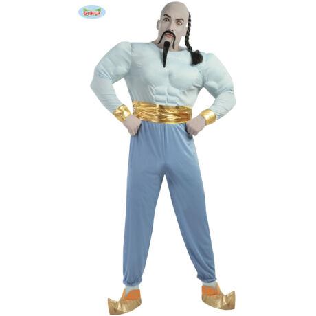 Aladdin Genie Dzsini, a lámpás szelleme, dzsinn halloween farsangi jelmez szett - felnőtt