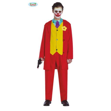 Joker halloween farsangi jelmez szett - felnőtt