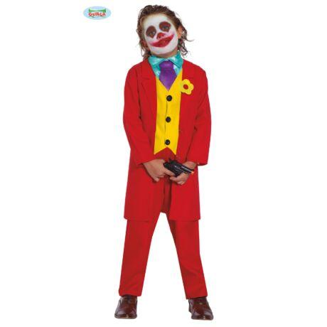 Joker halloween farsangi jelmez szett - gyerek