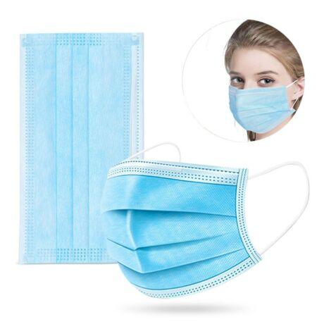 3 rétegű sebészi szájmaszk orvosi maszk szájmaszk arcmaszk
