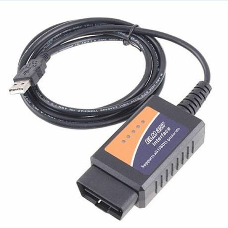 USB autós diagnosztikai eszköz, műszer CAN-BUS ELM327 OBD2 OBDII V1.5