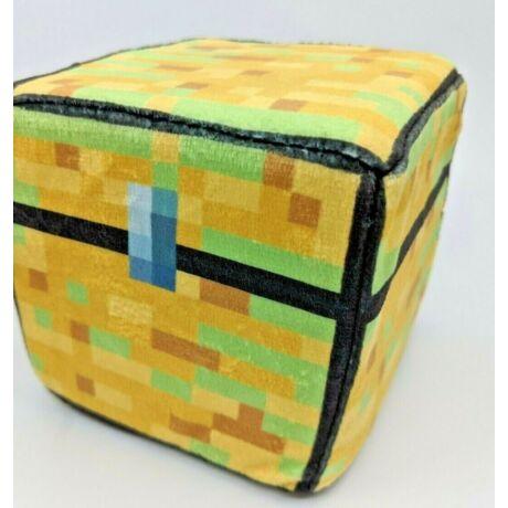 Minecraft nagy plüss láda ládika chest párna