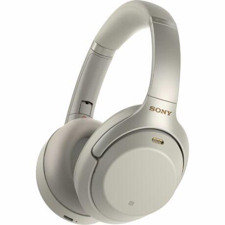 Sony WH-1000XM3 Bluetooth fejhallgató - platinaezüst