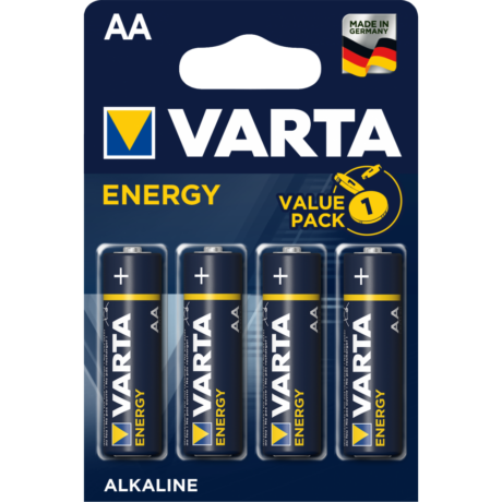 VARTA Energy AA LR6 micro alkáli elem (4db)