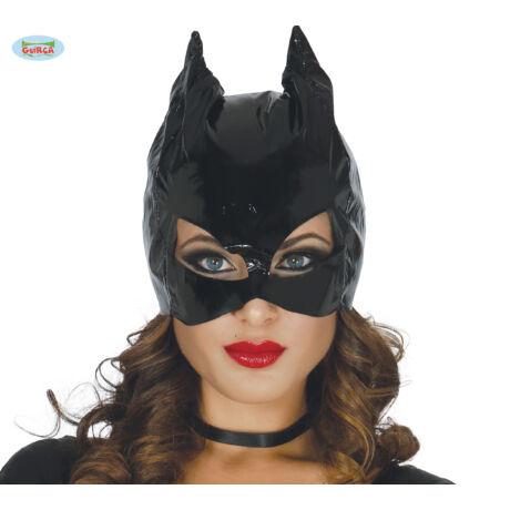 Catwoman farsangi jelmez kiegészítő - macskanő maszk