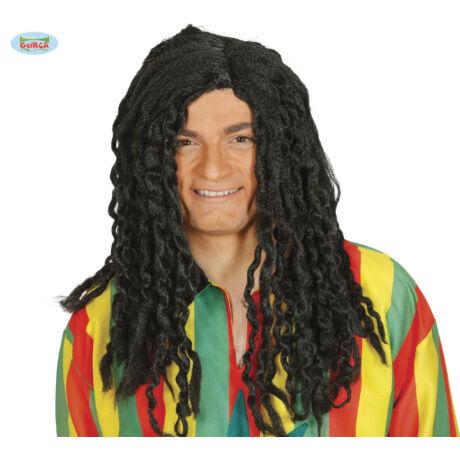 Bob Marley rasta paróka - halloween farsangi kiegészítő