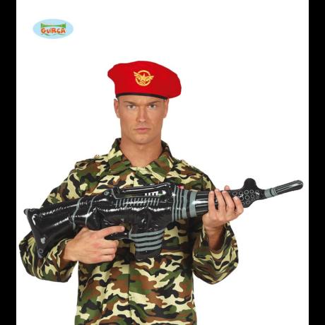 Jelmez kiegészítő - játékfegyver - felfújható gépfegyver