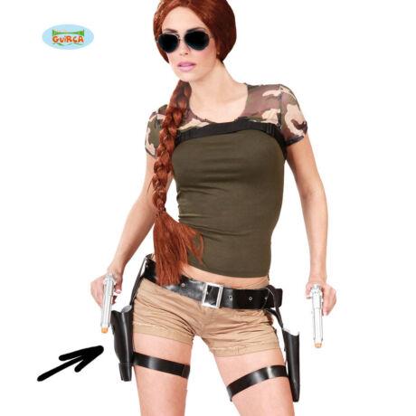 Lara Croft jelmez kiegészítő - pisztolytáska