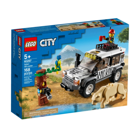 LEGO City 60267 - Szafari Mini terepjáró