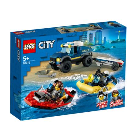 LEGO City 60272 - Elit rendőrség hajószállító