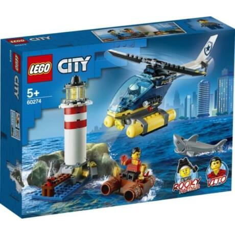 LEGO City 60274 - Elit rendőrség elfogása a világítótoronynál