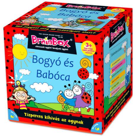 Green Board Game BrainBox - Bogyó és Babóca fejlesztő társasjáték