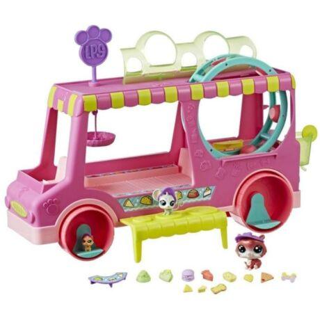 Hasbro Littlest Pet Shop Cukrászautó szett