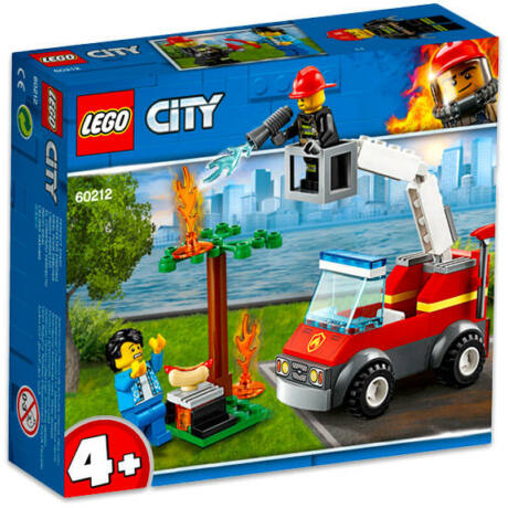 LEGO City 60212 - Kiégett grill