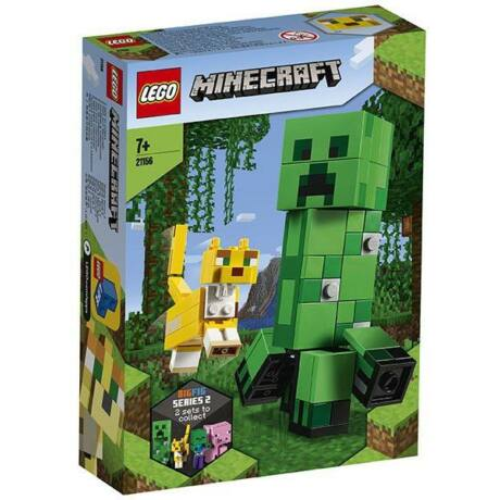 LEGO Minecraft 21156 - BigFig Creeper és Ocelot