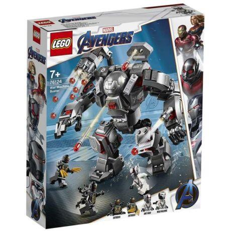 LEGO Super Heroes 76124 - Endgame Hadigép Romboló