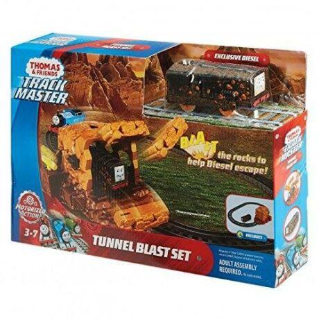 Mattel Thomas a gőzmozdony - bányaomlás pályaszett (FJK24)