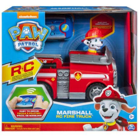 Spin Master Mancs Őrjárat: Marshall távirányítós tűzoltóautója figurával
