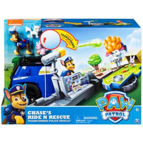 Spin Master Mancs őrjárat: Chase Ride n Rescue járgánya
