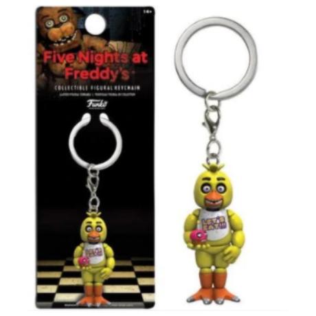 FNAF Five Nights At Freddy's kulcstartó - Chica csibe (6cm)