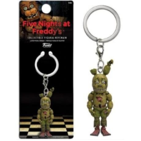 FNAF Five Nights At Freddy's kulcstartó - Springtrap (6cm)