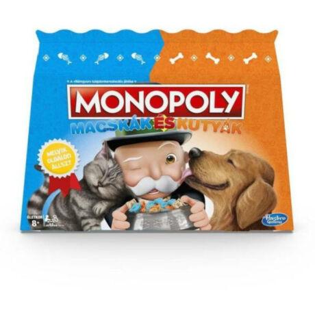Hasbro Monopoly - Macskák és Kutyák társasjáték
