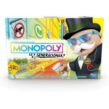 Hasbro Monopoly Az Y generációnak társasjáték