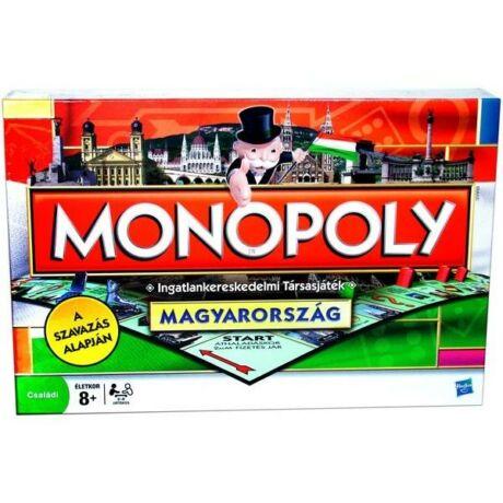 Hasbro Monopoly Magyarország társasjáték