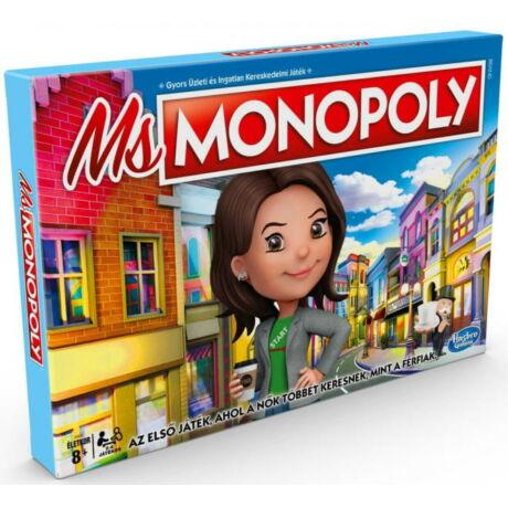 Hasbro Ms Monopoly társasjáték