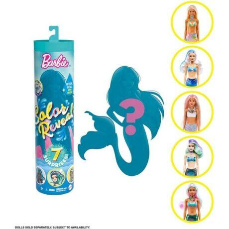 Mattel Barbie Color Reveal Meglepetés baba - Tündöklő sellők