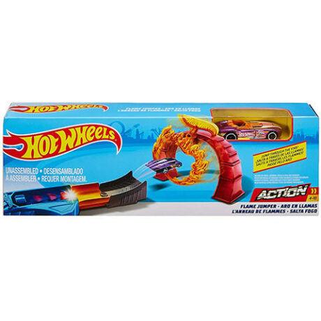 Mattel Hot Wheels Klasszikus trükköző játékszett - Flame jumper