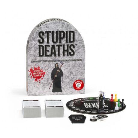 Piatnik Stupid Deaths kvízjáték, társasjáték
